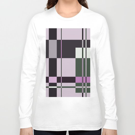 Interesting Geometry - Pale, pastel artwork Long Sleeve T-shirt