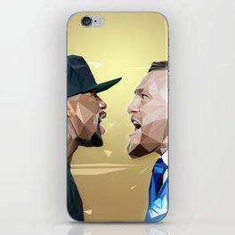 THE FIGHT OF THE CENTURY iPhone Skin