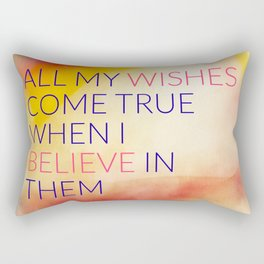ALL MY WISHES COME TRUE Rectangular Pillow