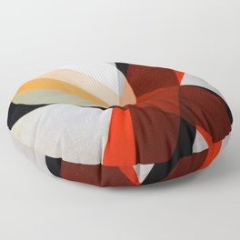 Laszlo Moholy Nagy Moon Beams Floor Pillow
