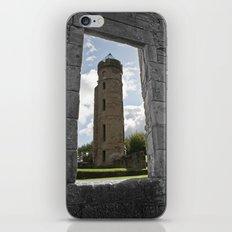 Tower Through The Rain  iPhone & iPod Skin