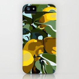 Lemon Branch iPhone Case