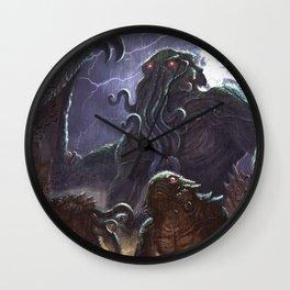 GREAT ANCIENT CTHULHU Wall Clock