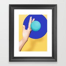 H4ND - TV dream series Framed Art Print