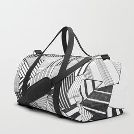 abstract crystal Duffle Bag