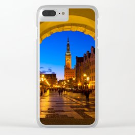 GDANSK 01 Clear iPhone Case