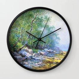 Seal Harbor, Mount Desert, Maine Wall Clock