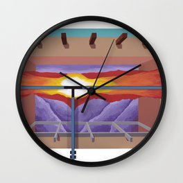 House of the Sun Cloud Wall Clock