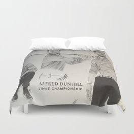 Jamie Dornan- Alfred dunhill/links championship 2015 Duvet Cover