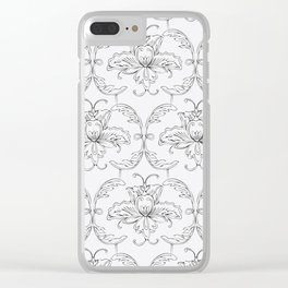 Grace Clear iPhone Case