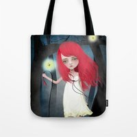 firefly Tote Bags featuring Firefly by solocosmo