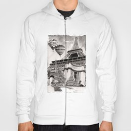 French Collage v2 Hoody