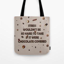 Falling chocolates Tote Bag