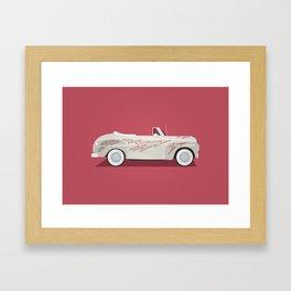 Grease Lightning Framed Art Print