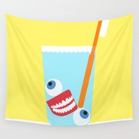 tooth Wall Tapestries featuring Tooth Brush by years