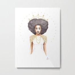 The Great Queen Violetta Metal Print