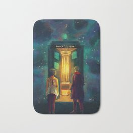 The Doctor, Bill and the kitchen Bath Mat