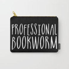 Professional bookworm - Inverted Carry-All Pouch