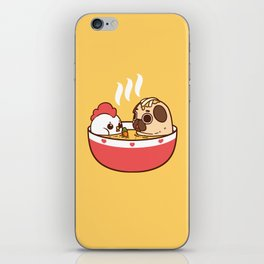Chicken Noodle Puglie Soup iPhone Skin