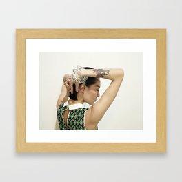 觉是 Framed Art Print