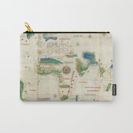 Cantino planisphere Carry-All Pouch