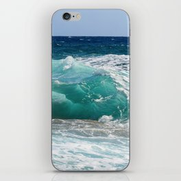 Wave Crashing On The Shore iPhone Skin