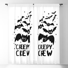 Creepy Crew Blackout Curtain