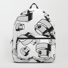 fat caps tumbling style Backpack