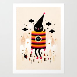Mr. Wooly Art Print