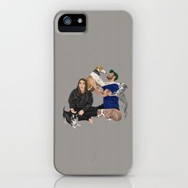 Happy Family iPhone Case