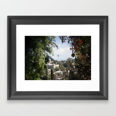 framed palm Framed Art Print