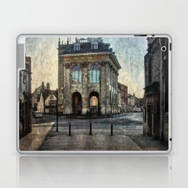 The Town Hall At Abingdon Laptop & iPad Skin