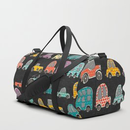 retro rides graphite Duffle Bag