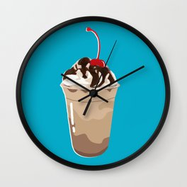 THE FOOD - Frappé/Coffee Wall Clock