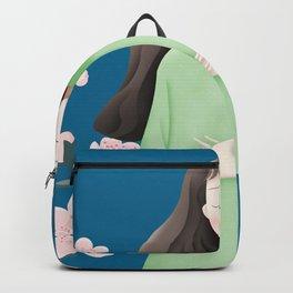 Peace Flower Girl Backpack
