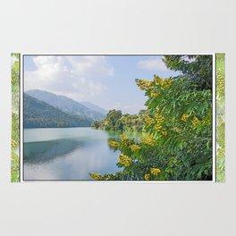 PHEWA LAKE POKHARA NEPAL  Rug