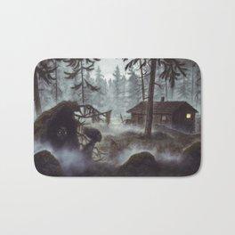 Forest vättar Bath Mat
