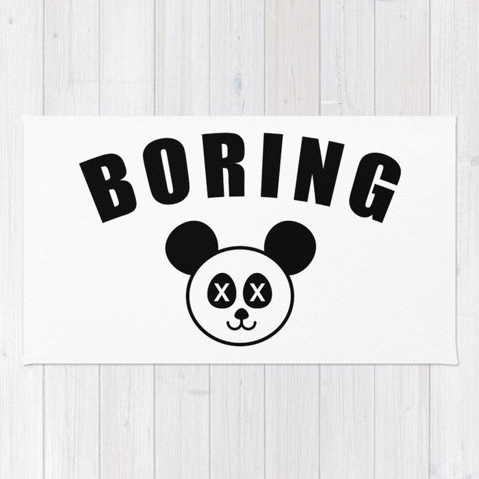 Boring Rug