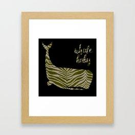 Whale Baby Framed Art Print