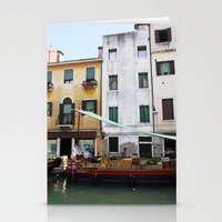 venice Stationery Cards featuring Venice by Kakel-photography