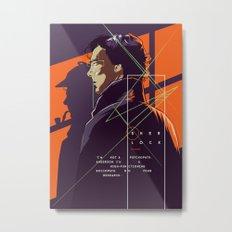 Sherlock - alternative movie poster Metal Print