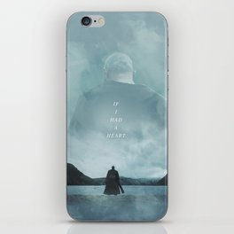 If I Had A Heart - Ragnar Lothbrok iPhone Skin