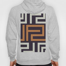 African Tribal Pattern No. 51 Hoody