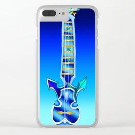 Fusion Keyblade Guitar #101 - Demyx's Sitar & Diamond Dust Clear iPhone Case