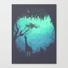 After Cosmic Storm Canvas Print