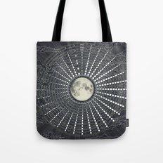 Phases // Moon Calendar 2017 Tote Bag