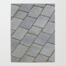 TEXTURES -- Pavingstone Pattern Poster