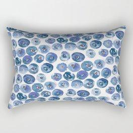 Blueberry Dreams Rectangular Pillow