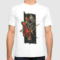 Olé! | Collage White MEDIUM Mens Fitted Tee