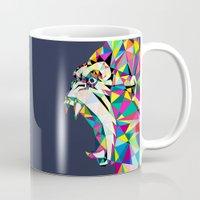gorilla Mugs featuring Gorilla by Narek Gyulumyan